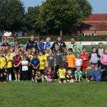 Mehr als 40 Kinder nahmen am Tag des Jugendfußballs des VfB Lette teil.