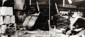 Ein wüstes Durcheinander herrschte in der Spritzlackiererei bei Cordes in Lette, nachdem als Folge einer Explosion im Trockenofen übermächtiger Druck die für den zügigen Arbeitsablauf sonst übliche Ordnung in Sekundenbruchteilen zerstört hatte.