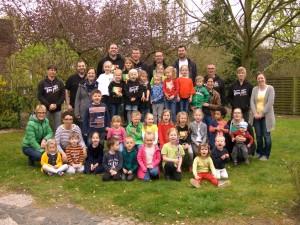 Das Turnpike-Team spendete 2.000€ an den Förderverein des Kindergartens und unterstützt damit tatkräftig den Umbau.