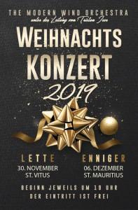 """Das Weihnachtskonzert des """"Modern Wind Orchesta"""" in St.-Vitus-Lette"""
